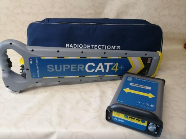 Super C.A.T. 4+ | mit T1-640 Sender | Radiodetection | Gebraucht mit Garantie