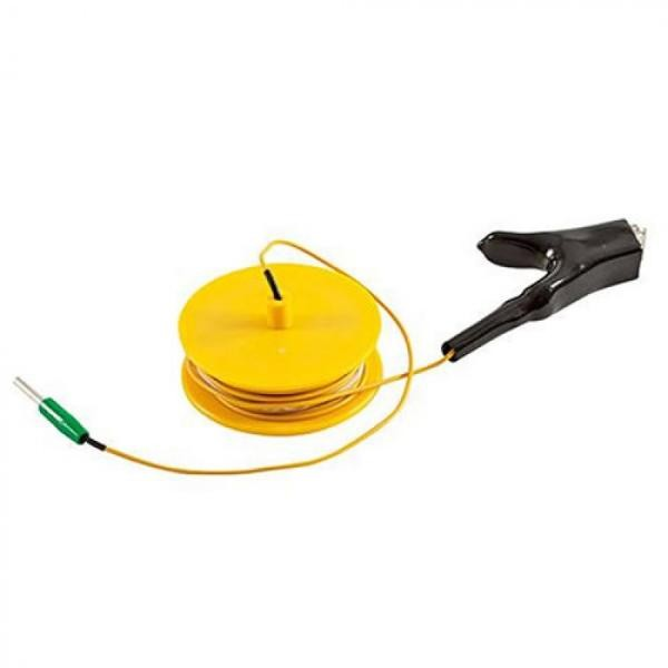 Erdungskabel 10m auf Haspel (gelb) | Radiodetection